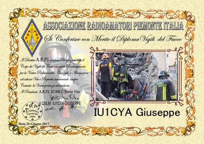 1° Diploma Vigili del Fuoco