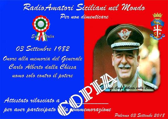 """Award """"Generale Carlo Alberto Dalla Chiesa"""""""