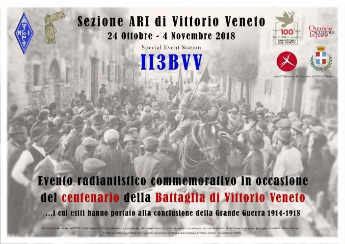 II3BVV – Stazione Radio Commemorativa