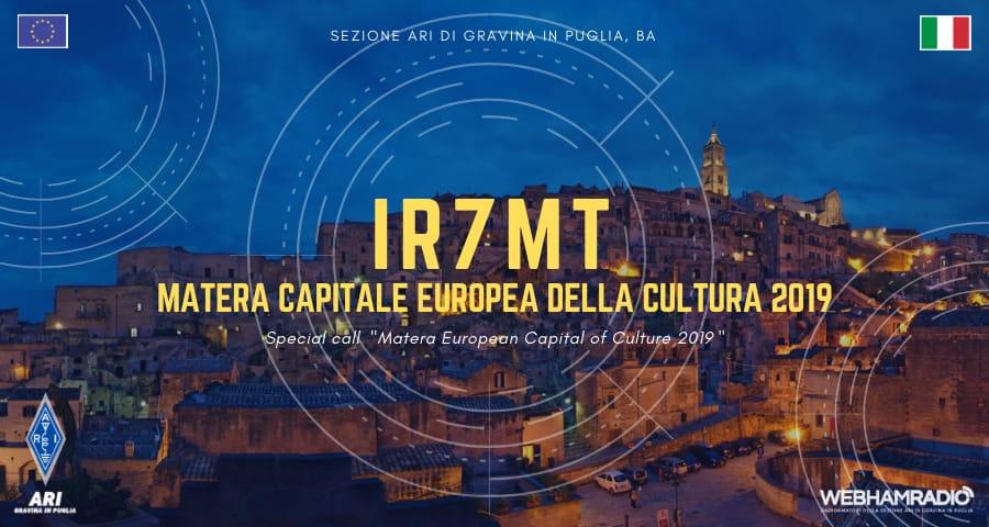 IR7MT Matera capitale Europea della Cultura 2019