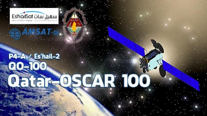 OSCAR-100 is the first geostationary amateur radio satellite