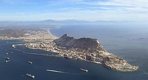 Special prefix ZG on Gibraltar