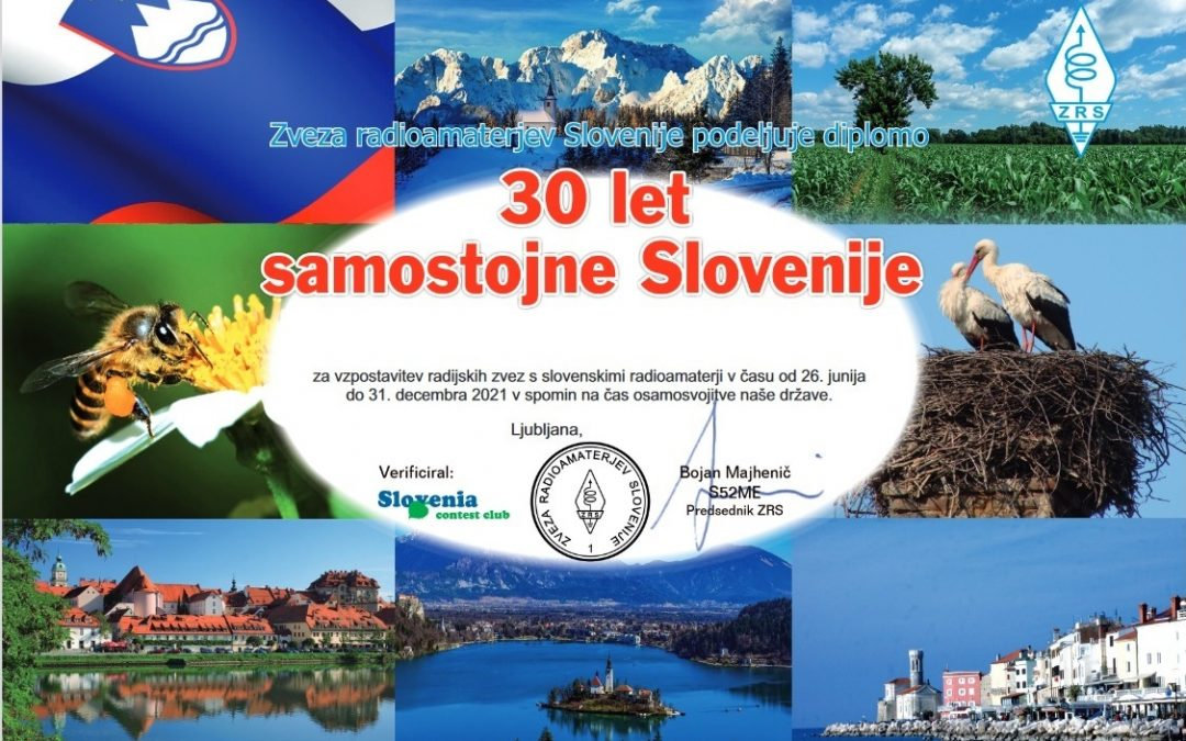 SLOVENIA – 30 YEARS OF INDEPENDENCE AWARD