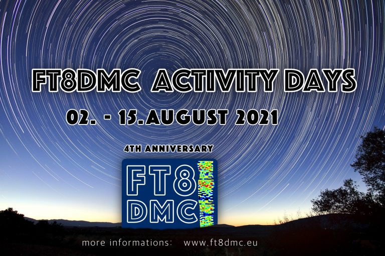 FT8 Digital Mode Club Anniversary